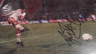 Mark Hughes Signed Picture Created By NA Posted By Derek Lyon
