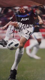 Darren Fletcher Signed Picture Created By NA Posted By Derek Lyon