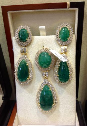 Emerald Earrings Created By Paris Jewelry Posted By Paris Jewelry