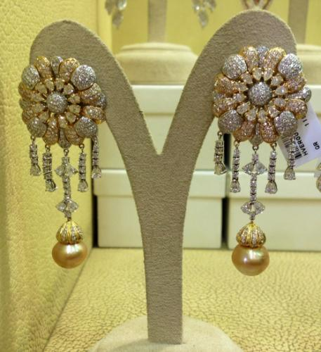 Pearl Earrings Created By Paris Jewelry Posted By Paris Jewelry