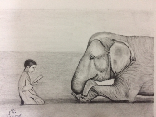 The Wise Elephant Created By Waqas Ahmed Posted By Waqas Ahmed