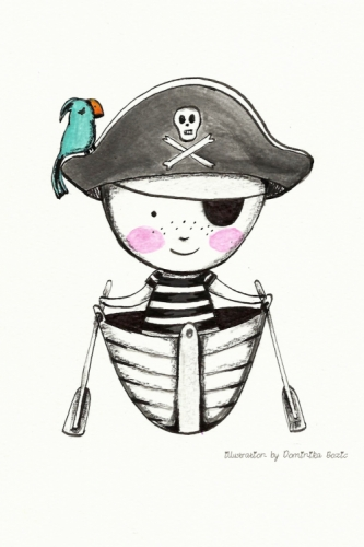 Pirate Created By Dominika Bozic, Les Chérubins Posted By Les Cherubins