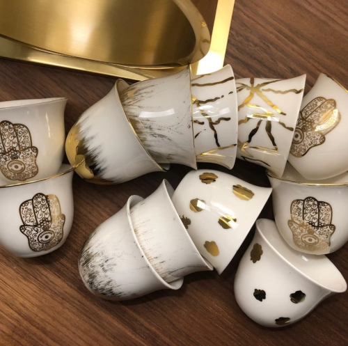 Arabic Coffee Cups Created By  Posted By Cosy Corner
