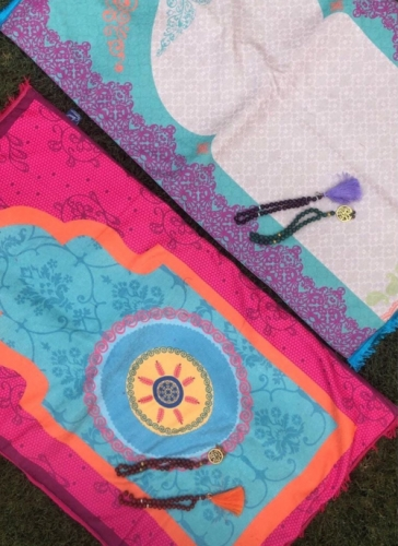Ramadan Prayer Mat Created By  Posted By Cosy Corner