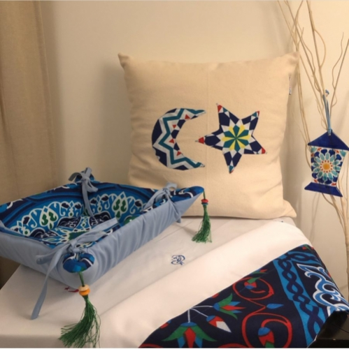 Ramadan In Blue Created By  Posted By Cosy Corner