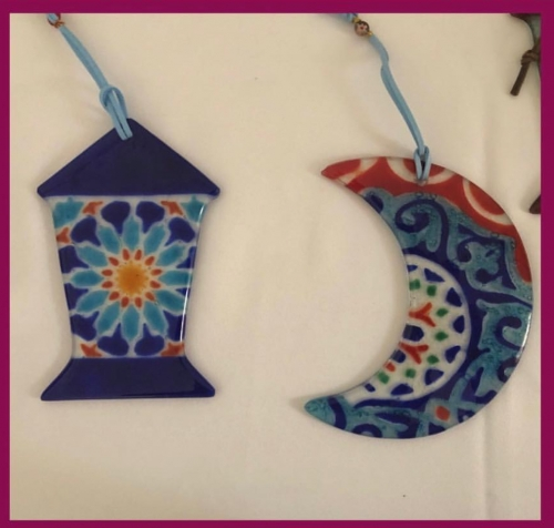 Crescent and Lantern Created By  Posted By Cosy Corner