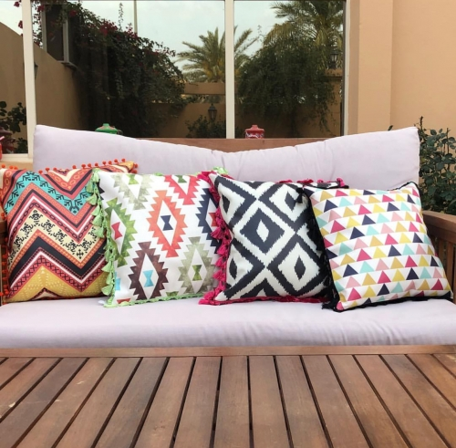 Aztec Cushion Created By  Posted By Cosy Corner