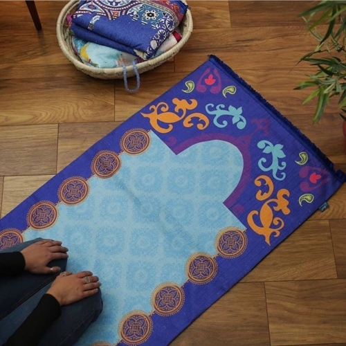 Colorful Praying Mats Created By  Posted By Cosy Corner