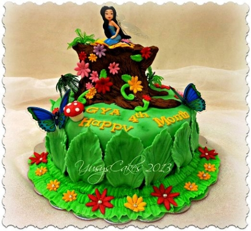 Qatar Collections: Tinkerbell Cake