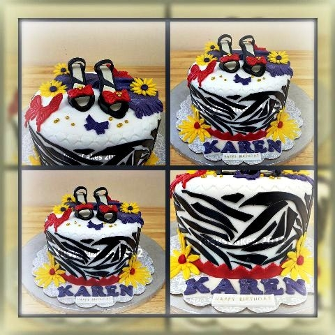 Qatar Collections: Shoes Cake