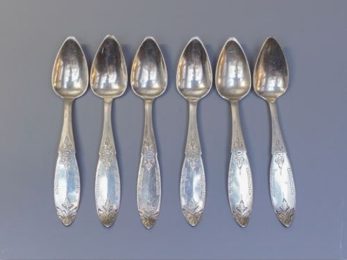 Silver teaspoons Created By  Posted By Filipo & Teo