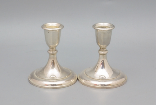 Silver plated candlesticks Created By  Posted By Filipo & Teo
