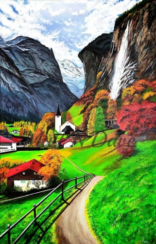 Mountain Lanscape Created By Ramya Aravindan Posted By Ramya