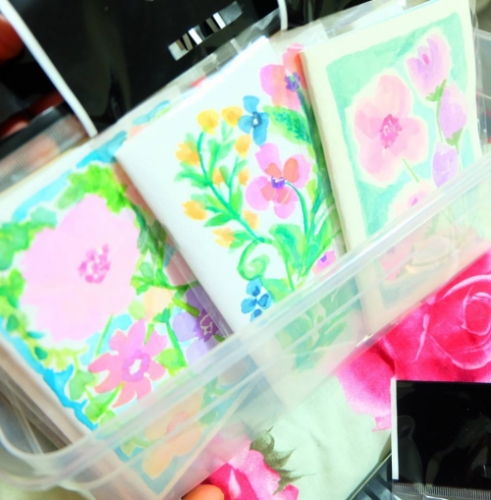 Floral Mini Journal Booklet Created By Irene Rose Niki O.S. Posted By Irene Rose