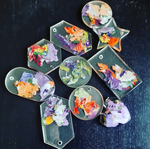 RESIN COOKIES Created By Irene Rose Posted By Irene Rose
