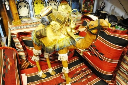 Leather Crafts Created By Rodhat Al Fars Posted By Souvenir