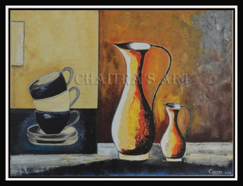 Tea Time Created By Artist Posted By Chaitra Somanath