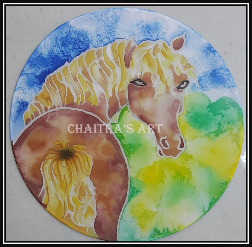 HORSE Created By Artist Posted By Chaitra Somanath