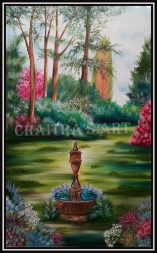 GARDEN Created By Artist Posted By Chaitra Somanath