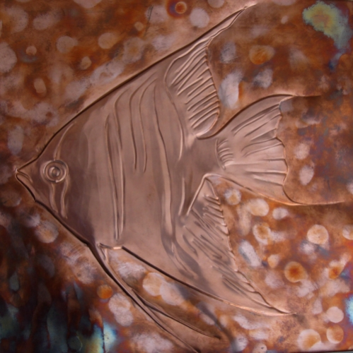 Angel Fish Created By wisam Posted By Al Sindan Pyrography