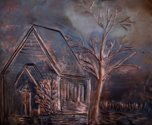 The Cottage Created By wisam Posted By Al Sindan Pyrography