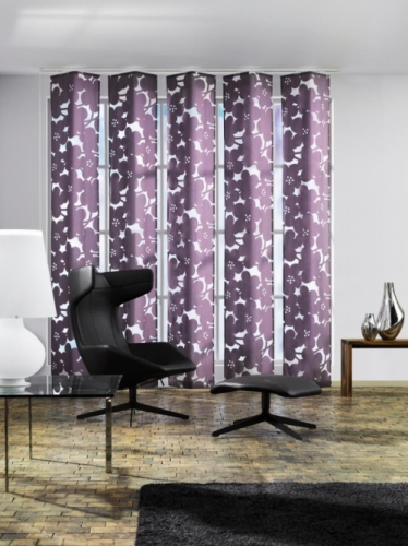 Purple Curtains Created By Rankoussi Posted By Rankoussi