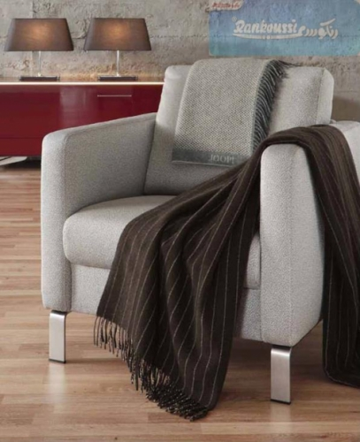 Brown Striped Blanket Created By Rankoussi Posted By Rankoussi
