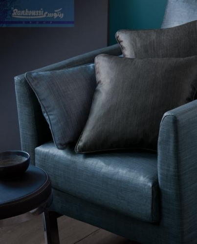 Blue Shiny Upholstery Created By Rankoussi Posted By Rankoussi