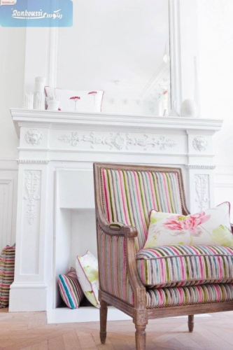 Colored Striped Upholstery Created By Rankoussi Posted By Rankoussi