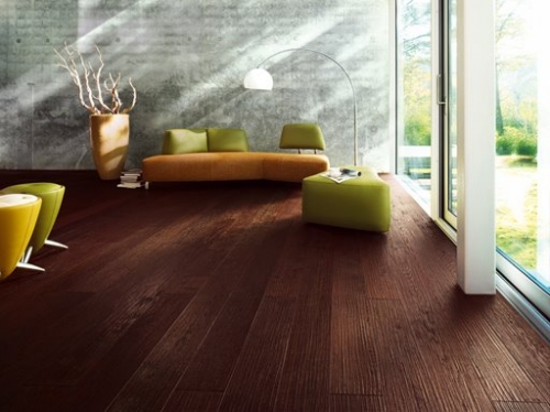 Unique Dark Wooden Flooring Created By Rankoussi Posted By Rankoussi
