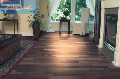 Dark Shaded Parquet Flooring Created By Rankoussi Posted By Rankoussi