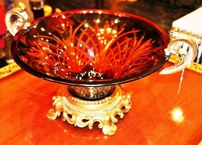 Art Deco Glass Bowl Created By Final Touches Posted By Final Touches