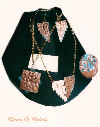 Brass Jewellery Created By  Posted By Artist Kinan Al-Rubaie