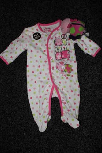 Girls babygrow with toy Created By Early Days Posted By Kids Fashion Qatar