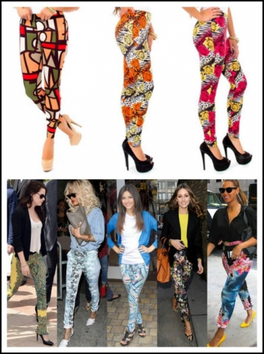 printed leggings Created By  Posted By Aisha Fashion World