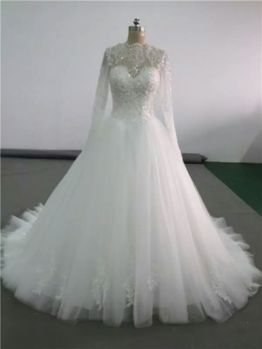 Ayah tailored wedding dress Created By Aisha Fashion World Posted By Aisha Fashion World