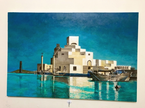 Museum Of Islamic Art 60x90 Created By Marvin Eugenio Posted By Marvin Eugenio