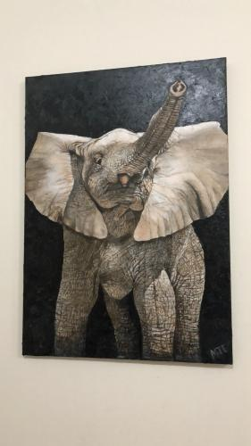 Elephant Calf Created By Marvin Eugenio Posted By Marvin Eugenio