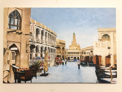 Souq Waqif Mosque Created By Marvin Eugenio Posted By Marvin Eugenio