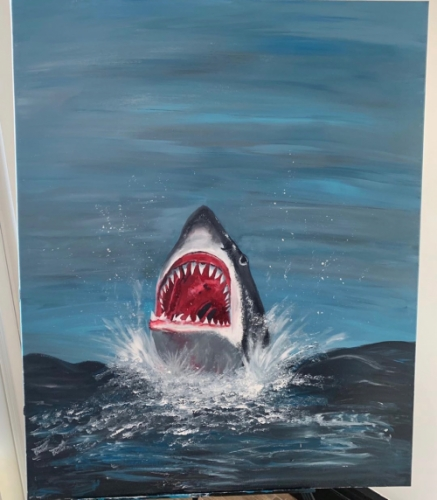 Shark Created By  Posted By paintwithus