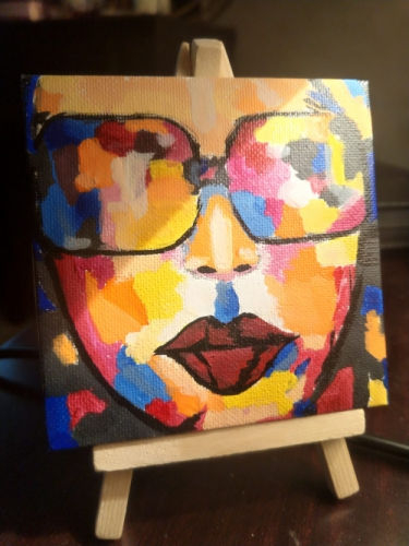 Girl of colours Created By  Posted By Samantha Viswas