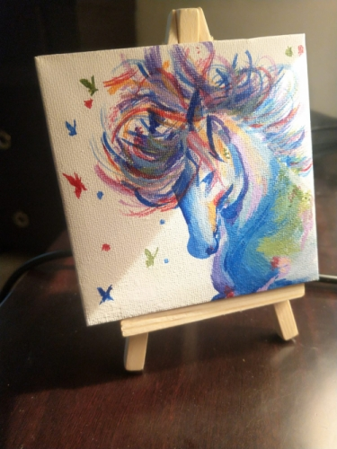 Colourful Horse Created By  Posted By Samantha Viswas