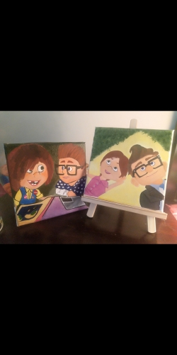 An UP Story Created By Artist Samantha Posted By Samantha Viswas