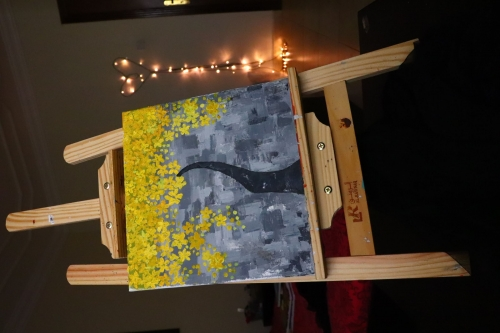 Yellow Created By Artist Samantha Posted By Samantha Viswas