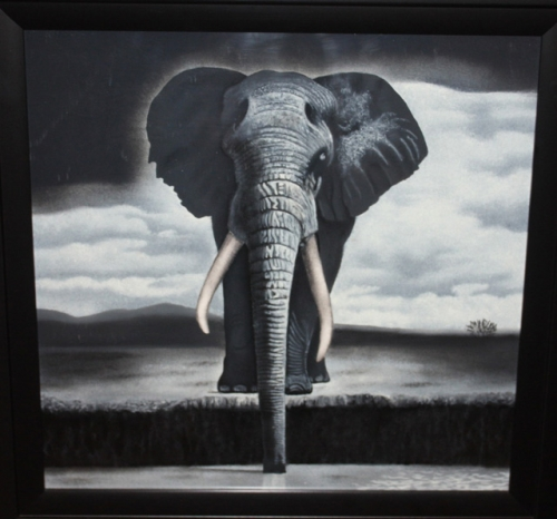 The Elephant Created By Yonaka Art Posted By Yonaka Art