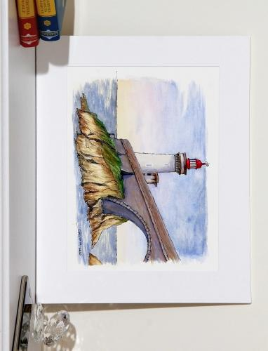 Petit Minou Lighthouse Created By  Posted By Calin Madescu