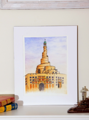 Al Fanar Mosque Doha Created By Calin Madescu Posted By Calin Madescu