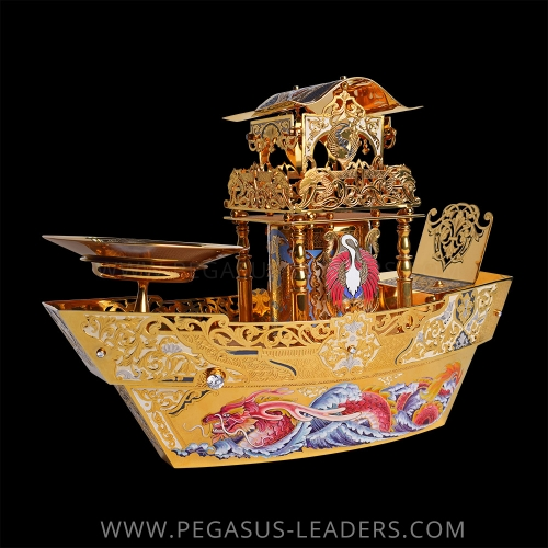 Golden Ship - Dragon Created By PEGASUS LEADERS Posted By PEGASUS LEADERS