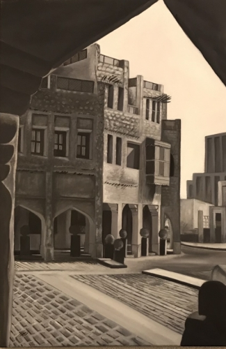 Souq Waqif Qatar Created By Artist Posted By Zmzm