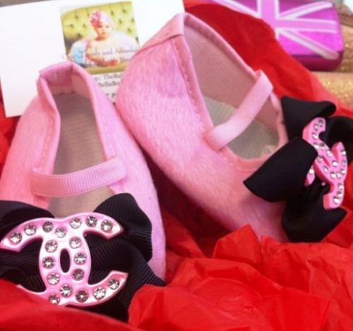 Qatar Collections Baby Chanel Shoes